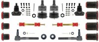67 68 69 Camaro & Firebird Basic Front Suspension Kit w/Red Poly Bushings USA!