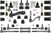 1967 Camaro Major Urethane Front Suspension Kit w/MS & Black Bushings USA