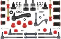 1967 Camaro Major Urethane Front Suspension Kit w/MS & Red Bushings USA