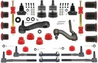 1968 1969 Camaro Major Urethane Front Suspension Kit w/MS & Red Bushings USA