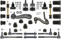 1968 1969 Camaro Major Urethane Front Suspension Kit w/PS & Black Bushings USA