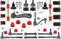 1967 Camaro Major Urethane Front Suspension Kit w/FRPS & Red Bushings USA