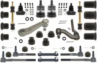 1968 1969 Camaro Major Urethane Front Suspension Kit w/FRMS & Black Bushings USA