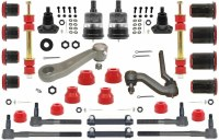 1968 1969 Camaro Major Urethane Front Suspension Kit w/FRMS & Red Bushings USA