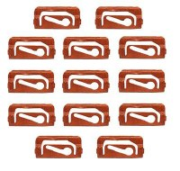 67 68 69  Camaro & Firebird Coupe Windshield Molding Clip Set OE Style 13 Pcs