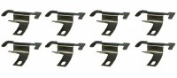 67 68 69  Camaro & Firebird Windshield Lower Molding Clip Set 8 Pcs GM 7663148