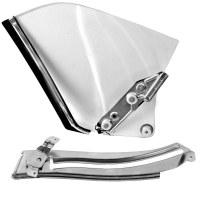 67 68 69 Camaro & Firebird Convertible Clear Quarter Window & Track Kit  RH