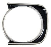 1967 Camaro Headlamp Bezel  Standard LH  OE Quality 3886614