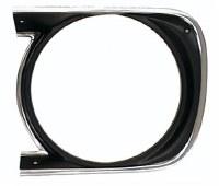 1968 Camaro Headlamp Bezel  Standard  LH  GM# 3914769