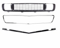 1969 Camaro Rally Sport Grille Kit w/GM RS Grille & Grille Molding & Stiffener