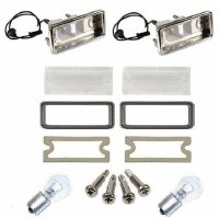 1967 1968 Camaro Rally Sport Back Up Lamp Light Kit
