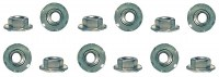 67 68 Camaro Taillight Housing Nut Set 12 Piece Kit