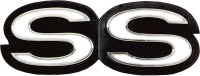 1969 Camaro SS Grille Emblem  Fits: Super Sport Models w/RS GM# 3958640