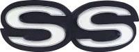 1968 Camaro SS Grille Emblem Fits: Models With Standard Grille  GM# 3981921