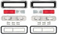1967 Camaro Standard Taillight Assemblies Kit  OE Quality  Our Tail Lamp Assemblies are the finest Parts Available Anywhere!