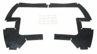 1969 Camaro & Firebird Air Conditioning Fender Baffle Seal Set