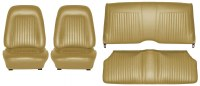 1967 Camaro Coupe Standard Interior Seat Cover Kit  OE Quality!  Gold