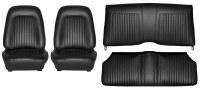 1967 1968 Camaro Coupe Standard Interior Seat Cover Kit  OE Quality!  Black