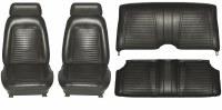 1969 Camaro Coupe Standard Interior Seat Cover Kit  OE Quality!  Black