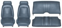 1969 Camaro Coupe Standard Interior Seat Cover Kit  OE Quality!  Dark Blue