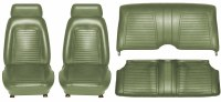 1969 Camaro Coupe Standard Interior Seat Cover Kit  OE Quality!  Dark Green