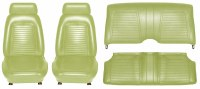 1969 Camaro Coupe Standard Interior Seat Cover Kit  OE Quality!  Moss Green