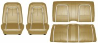 1967 Camaro Deluxe Interior Seat Cover Kit  OE Quality!  Gold