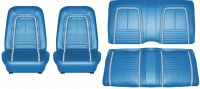 1967 Camaro Deluxe Interior Seat Cover Kit  OE Quality!  Bright Blue
