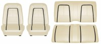 1967 Camaro Deluxe Interior Seat Cover Kit  OE Quality!  Parchment