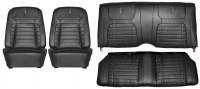 1968 Camaro Deluxe Interior Seat Cover Kit  OE Quality!  Black