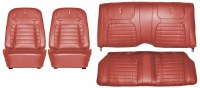 1968 Camaro Deluxe Interior Seat Cover Kit  OE Quality!  Red