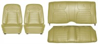 1968 Camaro Deluxe Interior Seat Cover Kit  OE Quality!  Ivy Gold