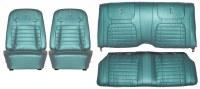 1968 Camaro Deluxe Interior Seat Cover Kit  OE Quality!  Aqua