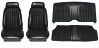 1969 Camaro Deluxe Comfortweave Interior Seat Cover Kit  OE Quality! Black