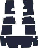 67 68 69  Camaro & Firebird Sound Deadner Kit  Asphalt