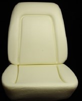 1969 Camaro Standard Interior Bucket Seat Foam Kit w/Molded Wires Inside Pair