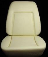1969 Camaro Bucket Seat Foam w/Deluxe Interior & Wires
