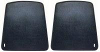 67 68 69 70 Camaro & Firebird Bucket Seat Backs OE Quality! Black Pair