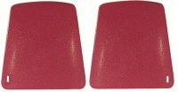 67 68 69 70 Camaro & Firebird Bucket Seat Backs Replacement Style  Red
