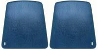 67 68 69 70 Camaro & Firebird Bucket Seat Backs Replacement Style  Dark Blue