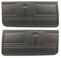 1967 Camaro & Firebird Standard Interior Door Panels  Unassembled  Black