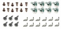 67 68 69  Camaro & Firebird Deluxe Door Panel Installation Hardware Kit