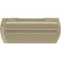 68 69 70 71 72 Camaro & Firebird Armrest Base Ivy Gold Plastic LH  GM# 7756009