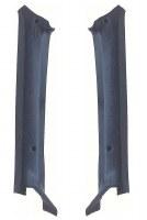1969 Camaro Coupe Padded Pillar Post Moldings  Dark Blue