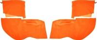 1969 Camaro & Firebird Convertible Rear Armrest & Well Covers  Orange
