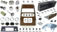 1968 Camaro Dashboard Restoration Parts Kit  No AC