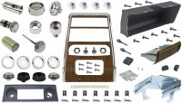 1968 Camaro Dashboard Restoration Parts Kit w/ Air Conditioning