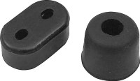 68 69 Camaro & Firebird Fold Down Rear Seat Rubber Bumper Stoppers Pair