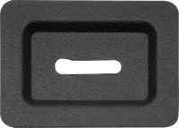 67 68 69 Camaro & Firebird Rear Fold Down Seat Latch Plastic Trim Plate