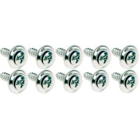 67 68 69  Camaro & Firebird Kick Panel Installation Chrome Screw Set 10 Pieces